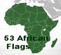 53 Flags of the African Nations