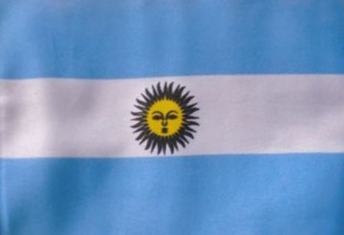 5ft by 8ft Argentina Flag