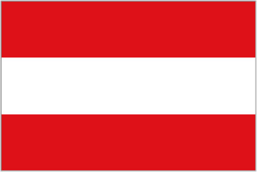 5ft by 8ft Austria Flag