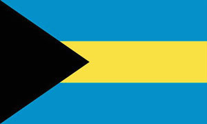2ft by 3ft Bahamas Flag
