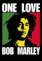 2ft by 3ft Bob Marley One Love Flag