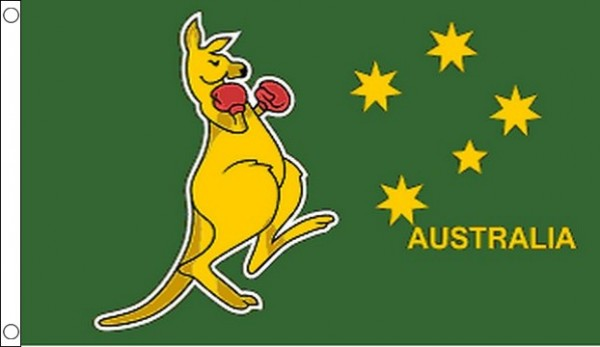 Australia Boxing Kangaroo Flag World Cup Offer
