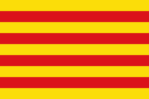 2ft by 3ft Catalonia Flag