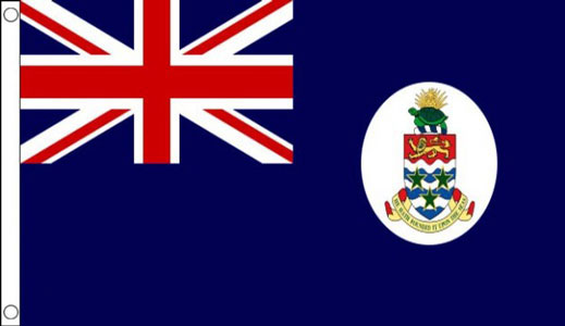 Cayman Islands Flag Old Design Only a Few Left