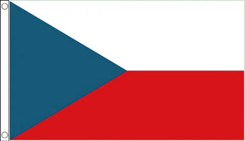 2ft by 3ft Czech Republic Flag