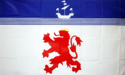 Devon Lion Flag