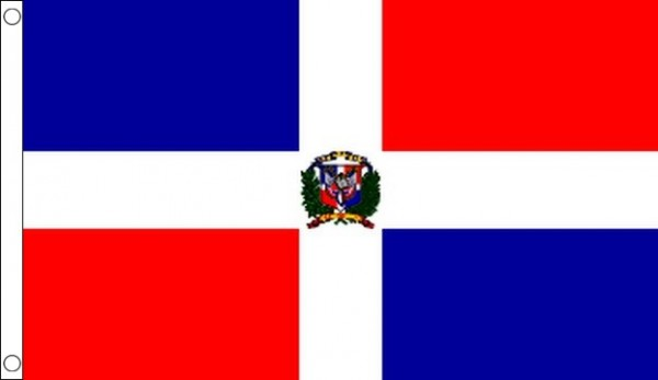 2ft by 3ft Dominican Republic Flag