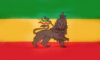 2ft by 3ft Ethiopia Lion of Judah Flag