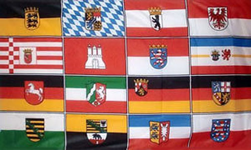 16 German States Flag Only a Few Available