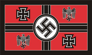 2ft by 3ft German Ministry of War Flag