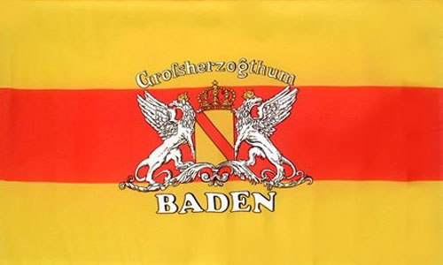 Grand Duchy of Baden Flag