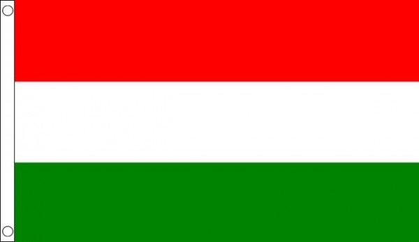 2ft by 3ft Hungary Flag