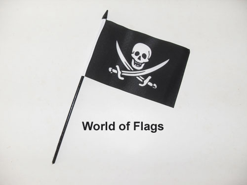 Jack Rackham Pirate Hand Flag