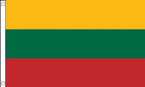 2ft by 3ft Lithuania Flag