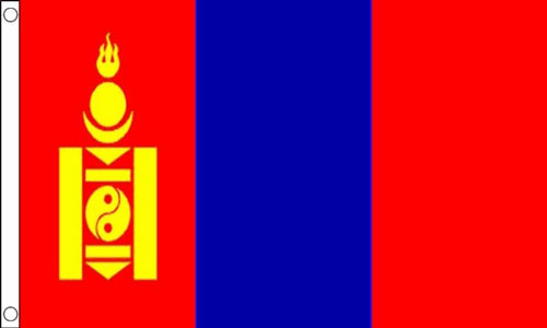 Mongolia Flag Design A LAST FEW LEFT