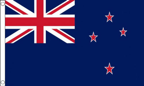 2ft by 3ft New Zealand Flag