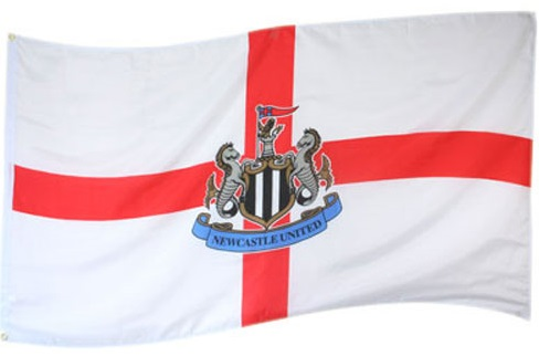 Newcastle Flag St George Cross Club & Country