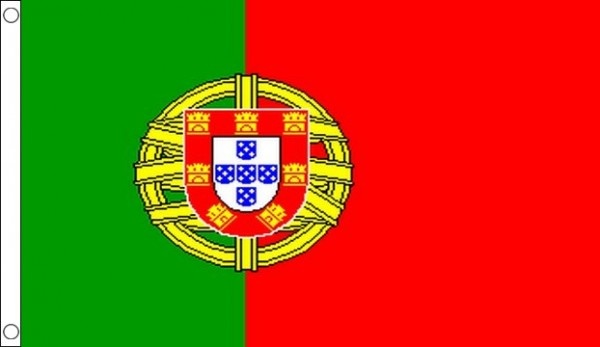 2ft by 3ft Portugal Flag World Cup Offer