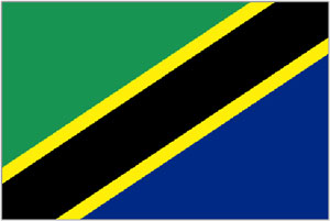 2ft by 3ft Tanzania Flag
