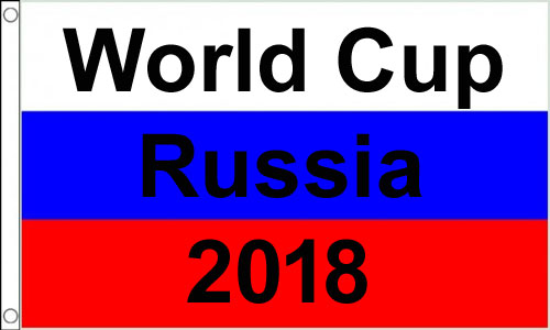 32 World Cup Flags 2018 (2ft by 3ft)
