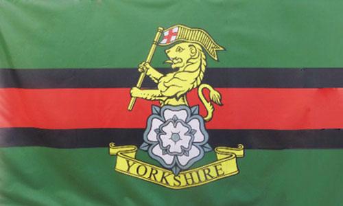 YORKSHIRE REGIMENT FLAG 5ft X 3ft