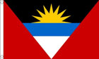 2ft by 3ft Antigua and Barbuda Flag
