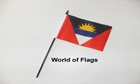 Antigua and Barbuda Hand Flag