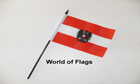 Austria Eagle Hand Flag