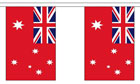 Australia Red Ensign Bunting 3m