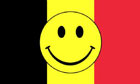 Belgium Smiley Face Flag