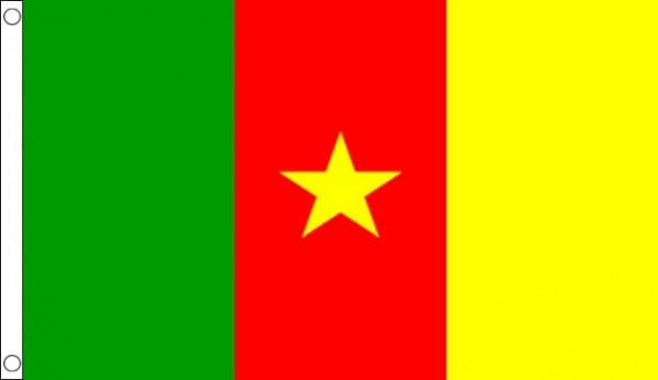 5ft by 8ft Cameroon Flag