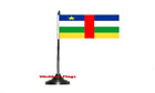Central African Republic Table Flag