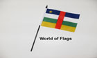 Central African Republic Hand Flag