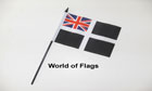 Cornwall Ensign Hand Flag