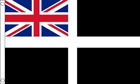 Cornwall Ensign Flag