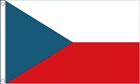 Czech Republic Funeral Flag