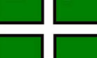 5ft by 8ft Devon Flag