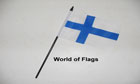 Finland Hand Flag
