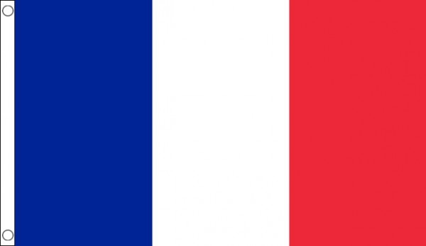 5ft by 8ft France Flag