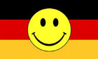 Germany Smiley Face Flag
