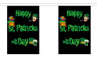 Happy St Patricks Day Bunting 9m Only A Few Left