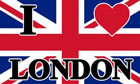 I Love London Flag LAST ONE