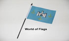 Isle of Wight Castles Hand Flag