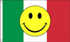Italy Smiley Face Flag