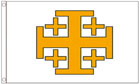 Jerusalem Cross Flag