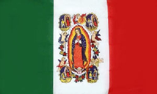 Our Lady of Guadalupe Flag LAST ONE