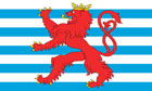 2ft by 3ft Luxembourg Lion Flag