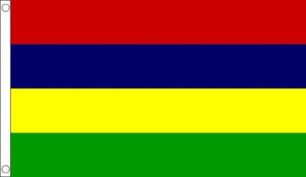 2ft by 3ft Mauritius Flag