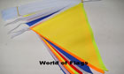 Multi Coloured Bunting 13m