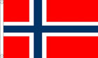 Norway Funeral Flag